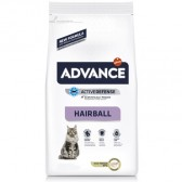 Pienso gatos Advance Hairball Pavo & Arroz
