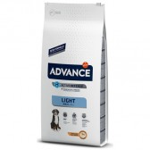 Pienso para perros Advance Maxi Light
