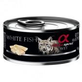 Alpha Spirit lata cat pescado blanco