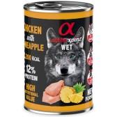 Alpha Spirit lata pollo & piña