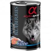 Alpha Spirit lata salmón & arándanos