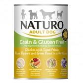 Naturo lata pollo grain free