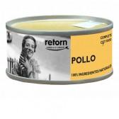 Retorn lata pollo