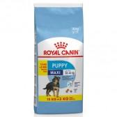 Royal Canin Maxi Puppy 15 + 3kg GRATIS