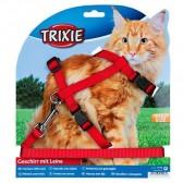 Arnés-correa gatos nylon