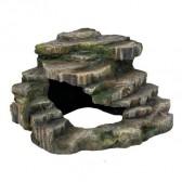 Piedra esquinera con cueva Trixie