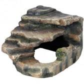 Roca esquina con cueva Trixie