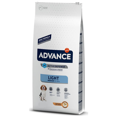 Pienso para perros Advance Medium Light