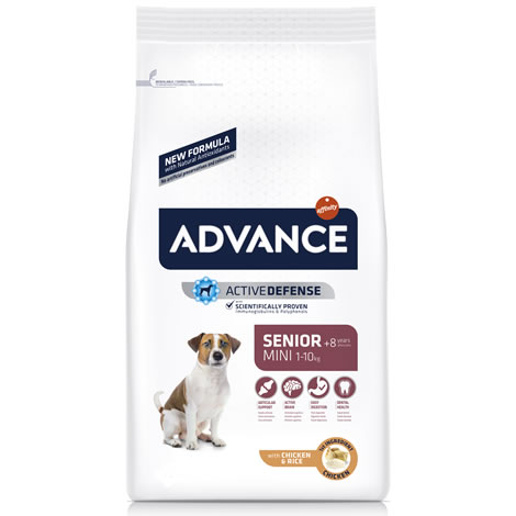 Pienso para perros Advance Mini Senior