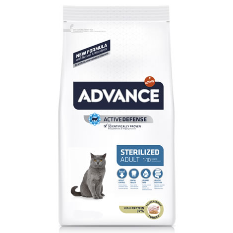 Pienso gatos Advance Sterilized