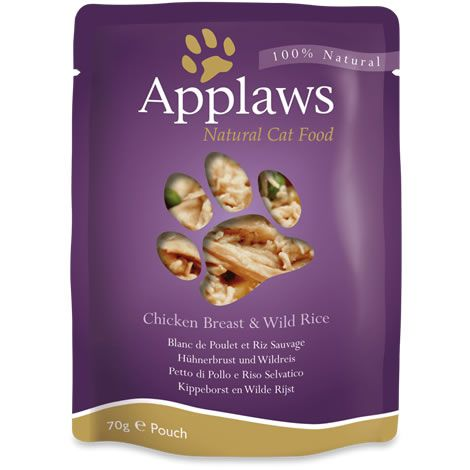 Applaws cat pouch pollo & arroz salvaje