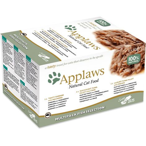 Applaws cat tasty multipack pescado