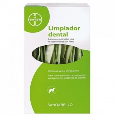 Limpiador dental sano & bello