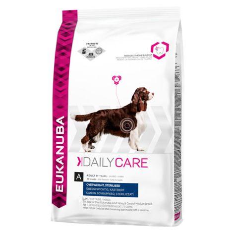 Eukanuba daily care overweight sterilized el mejor for Mejor pienso para perros