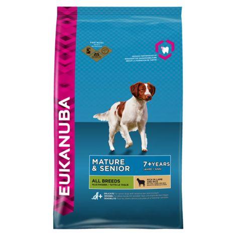 Eukanuba senior cordero y arroz pienso para perros al for Mejor pienso para perros