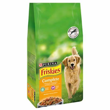 Friskies complete pienso para perros al mejor precio for Mejor pienso para perros