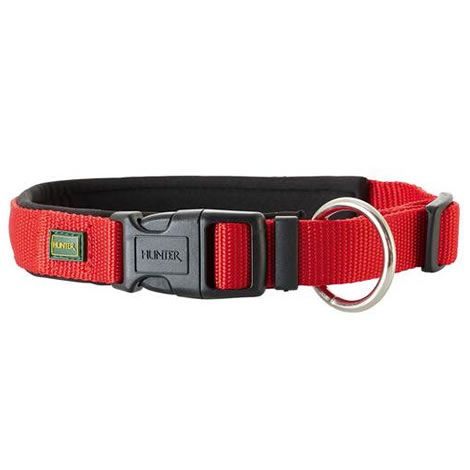 Collar neopren vario plus rojo