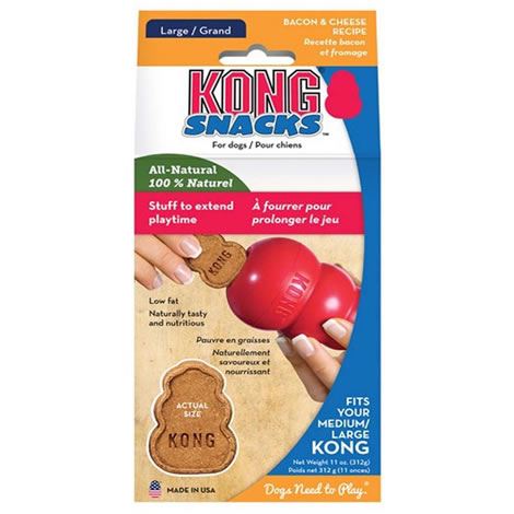 Kong bacon cheese snacks large