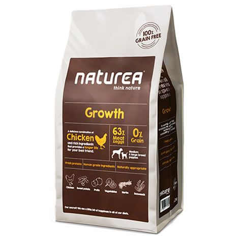 Pienso para perros Naturea Growth Puppy