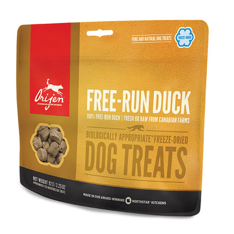 Orijen Treats Free-Run Duck