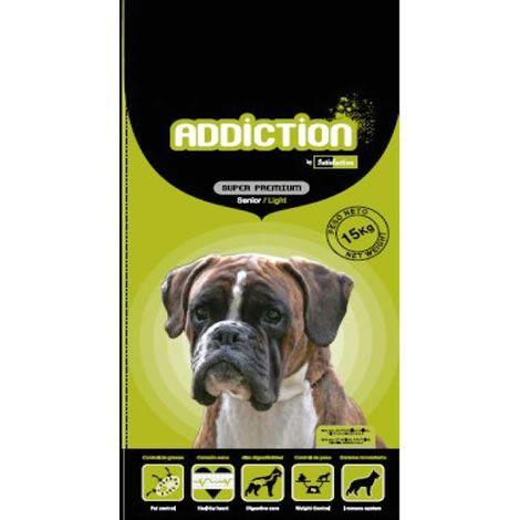 Addiction senior light pienso para perros al mejor precio for Mejor pienso para perros