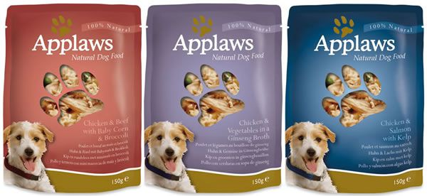 multipack applaws dog pouch