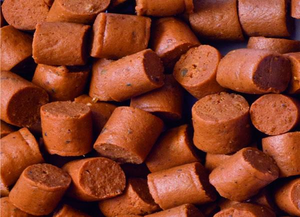 bocaditos de salmón para perros