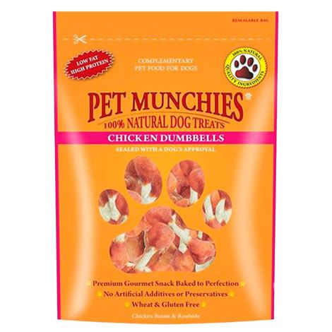 Pet Munchies Pollo Dumbbells