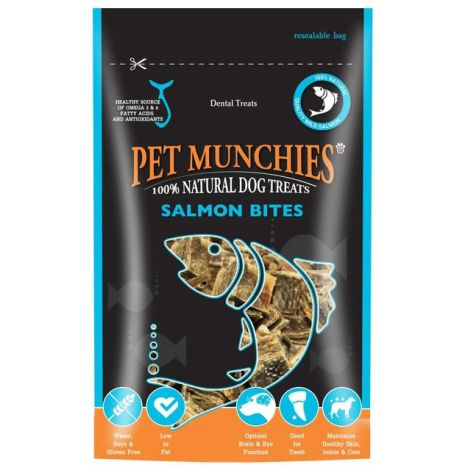 Pet Munchies Salmon Bites