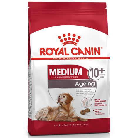 Pienso para perros Royal Canin Medium Ageing 10+