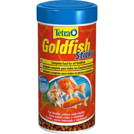 Tetra goldfish sticks alimentaci n para peces for Alimento para goldfish