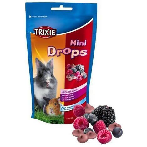 Mini drops frutas del bosque