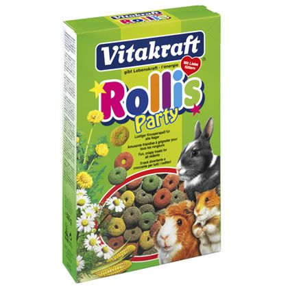 Vitakraft party rollis roedores
